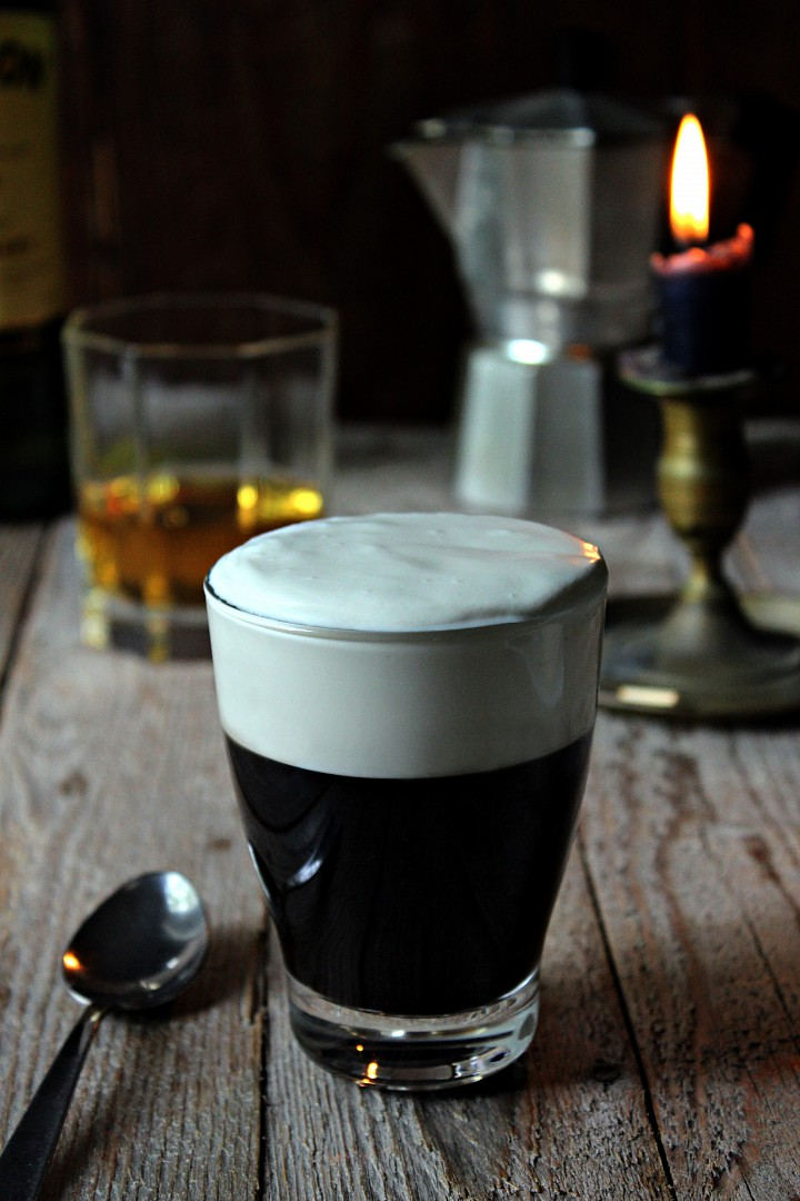 Irská káva (Irish coffee) recept