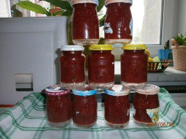 Domácí jahodová marmeláda