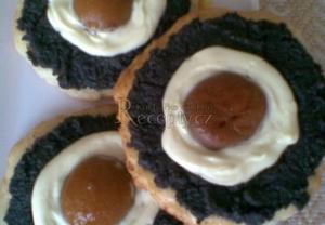 Makový koláč s volskými oky z meruněk