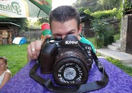Fotoaparát  dort recept