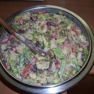 Fazolový salát s čočkou recept