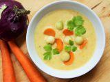 Polévka z kedlubny a mrkve recept