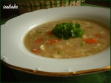 Polévka s pekingským zelím recept