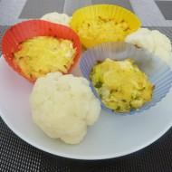 Květákové muffiny pro děti recept