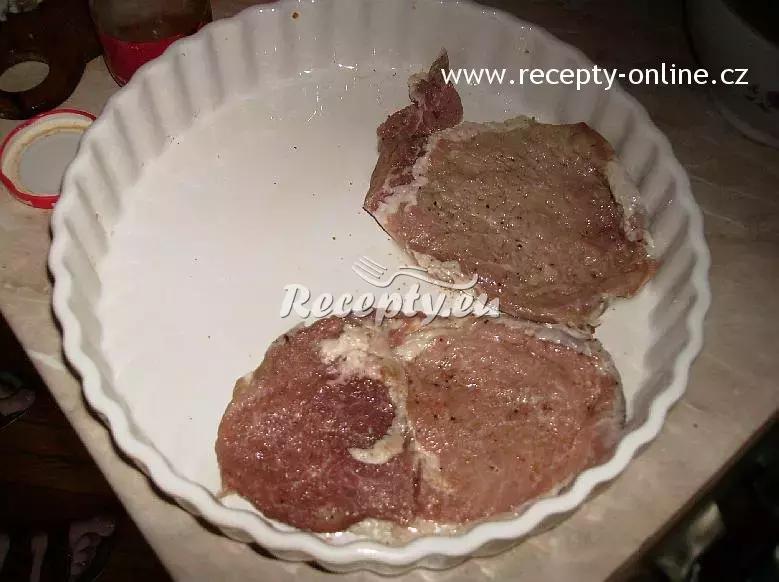 Maminčina vepřová specialita recept  vepřové maso