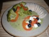 Cuketové pyré s brokolicí a vejcem / dietni recept