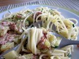 Cuketa se šunkou a parmezánem se špagetami recept ...