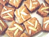 Čínské mandlové čtverečky recept