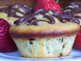 Muffiny s tvarohem a čokoládou recept