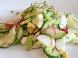 Bleskový jarní salátek recept