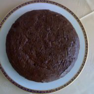 Kakaový koláč s hruškami a čokoládou recept