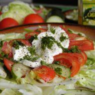 Salát s mozzarelou recept