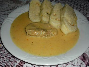 Vepřové maso se zeleninovou omáčkou