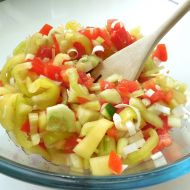 Zeleninový salát s umeoctem recept