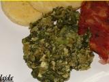 Špenát z mangoldu a listového špenátu recept