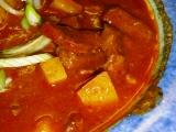 Gulášová polévka  přesnídávková recept