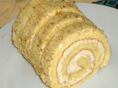 Recept Ořechová roláda