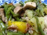 Smažená zelenina s bramborami recept