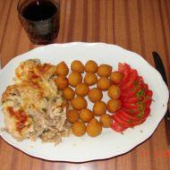 Zapečené kuřecí plátky se žampiony recept