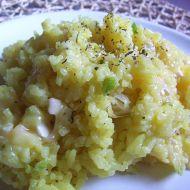 Sýrová kari rýže recept