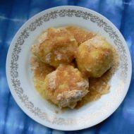 Jablkové knedlíky recept