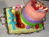 Skittles Birthday torta recept