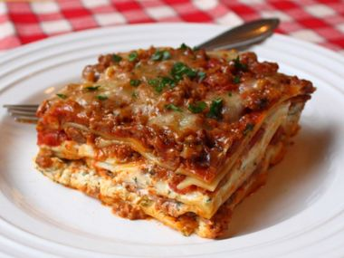 Zeleninové lasagne s cuketou