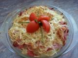 Špagetový nákyp recept