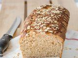 Chleba z celozrnné mouky a ovesných vloček recept