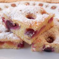 Rychlý třešňový koláč recept