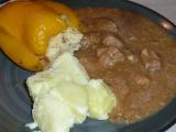 Nadivane papriky s veprovym masem recept
