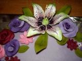 Květinový s lilií recept