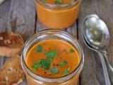 Studená polévka z pečených rajčat recept
