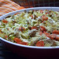 Těstoviny se sójou z trouby recept