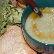 Rychlá brokolicová polévka recept