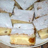 Rychlý koláč s tvarohem recept
