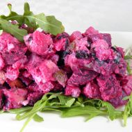 Veganský bramborový salát s tofu recept