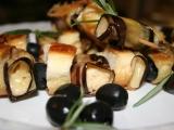 Sýrovo-lilkové špízy recept
