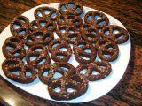 Alsaské čokoládovo-kávové bretzels recept