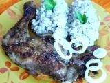 Kuře na petrželi a bylinkách s kroupotem recept
