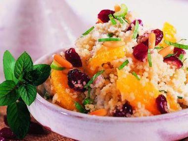 Recept Kuskusový salát s bylinkami