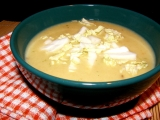 Polévka s čínským zelím recept