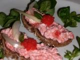 Rychlá pomazánka z drcené tresky a la losos recept