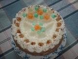 Piškotový dort recept