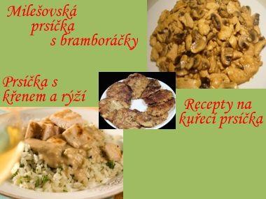 Dva recepty na kuřecí prsíčka