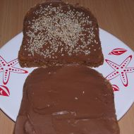 Čokoládový sendvič se sezamem recept