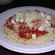 Omáčka na špagety z mletého masa recept