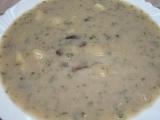 Rychlá houbová polévka recept