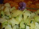 Řapíkatý bramborový salát k bleskové rybě recept