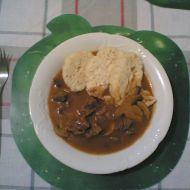 Guláš s houbami recept